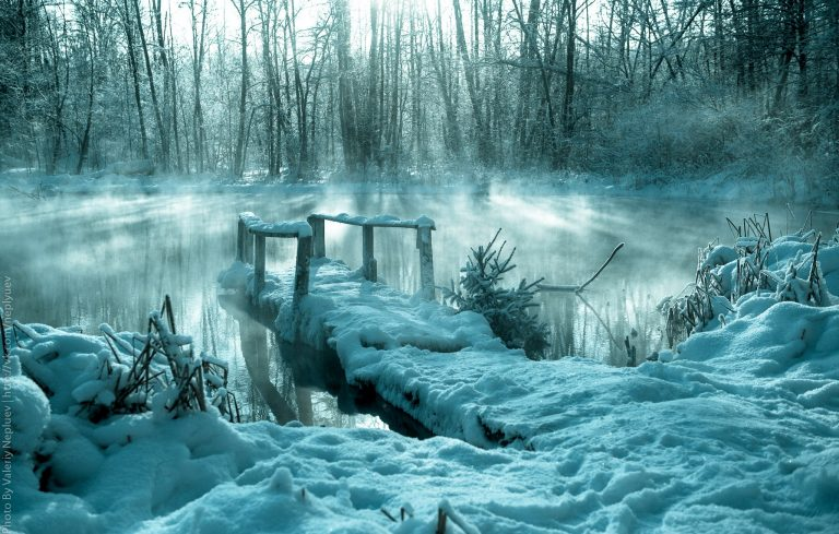 дальние голубые озера